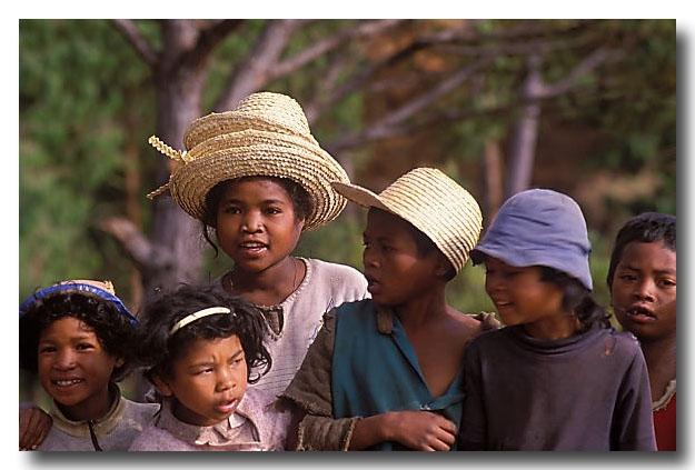 (Central Madagascar – Antsirabe area) Highland children
