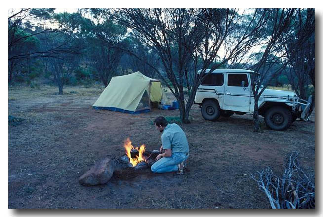 (FX-422) Camping in the outback