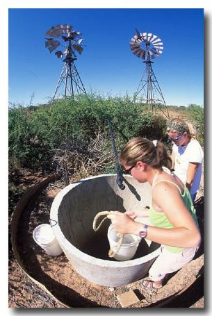 (TC-759) Collecting water from the well