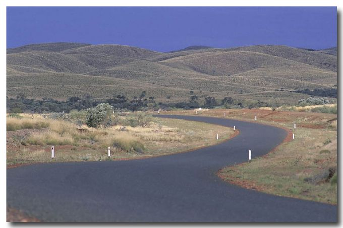 (DY-128) Road in a landscape