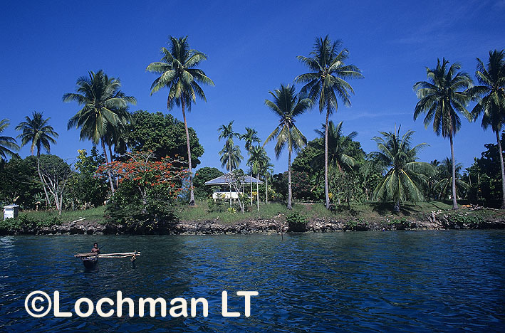 Papua New Guinea – Madang Province –  a harbour
