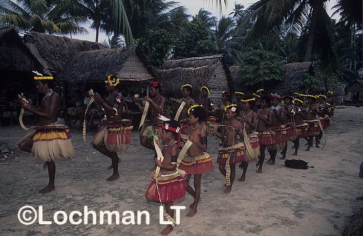 Milne Bay Province – Kulawa village dancers