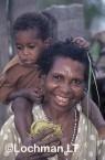 PNG- Sepik river-mother and child VSY-471 ©Alex Steffe - Lochman LT