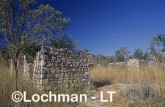 Historic ruins of Lillimooloora Police station - where Jandamarra-Pigeon started his insurrection  AFY-553 ©Marie Lochman - Lochman LT